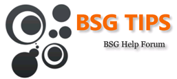 Go To The BSG Tips Forum!